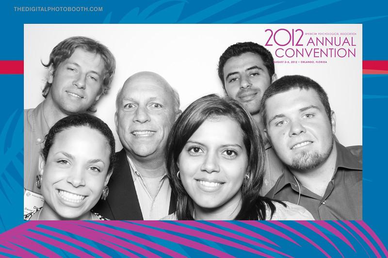 2012 APA Conventino with studnets