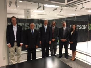 Tony Visiting with IBM's Watson Group